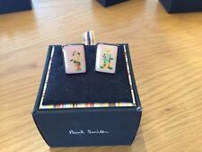 Paul Smith 'clown' cufflinks in box