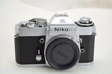 Nikon EL-2 35mm Spiegelreflexkamera, chrom, Lesen /read!