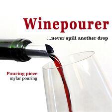 Disk Pourer Wine disc Whisky Foil Pourers  Stop Drop Reusable Spout 10pcs/lot