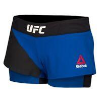 Reebok UFC Womens Black Speedwick Performance TLAF Train Like A Fighter Booty Shorts AJ4427
