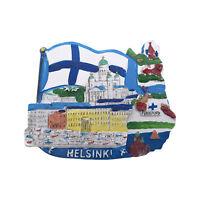 Helsinki Finland 3D Fridge magnet Tourist Souvenir Home Decor Collection