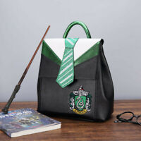 Harry Potter Slytherin Backpack Student School Bag Travel Rucksack Handbag New