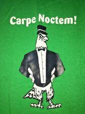 St Joseph Preparatory Prep HS Green Junior Prom Carpe Noctem T Shirt Size SMALL