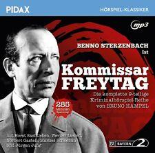 Kommissar Freytag * CD Krimihörspiel-Reihe von Bruno Hampel Pidax MP3-CD Neu