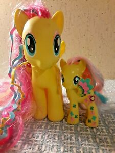 MY LITTLE PONY TWICE AS FANCY DANCING BUTTERFLIES YELLOW PEGASUS LOT RARE 2013
