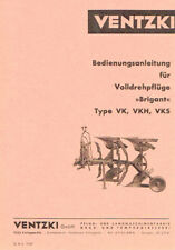 "Ventzki Volldrehpflüge ""Brigant"", orig. BA 1967"