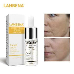 Line Rewind 24K Gold Serum Anti-Aging Face Cream Wrinkle Lift 24 K Golden Skin