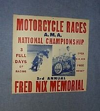 1973 FRED NIX MEMORIAL RACE A.M.A.NATIONAL CHAMPIONSHIP