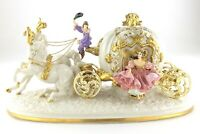Cinderella's Magical Moment Anniversary Sculpture Alexsander Danel Carriage S463