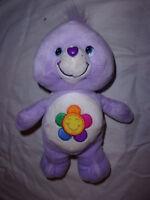 "Care Bears Harmony Bear 9"" Plush Soft Toy Stuffed Animal"