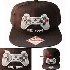 separation shoes b20b9 fcce0 Sony PlayStation Est 1994 Logo White Snapback Hat Cap Official Ps1 Controller  PS