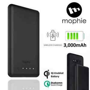 Mophie Wireless Fast Charger Charge Force Qi 3000mAh Power Bank Portable Battery