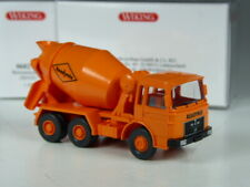 TOP: Wiking MAN Betonmischer Readymix orange in OVP