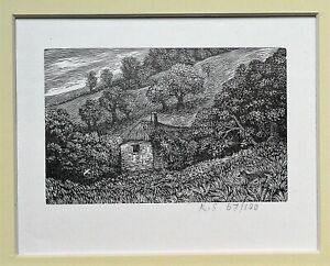 Reynolds Stone CBE (1909-1979) Signed wood engraving (Link Eric Gill)..