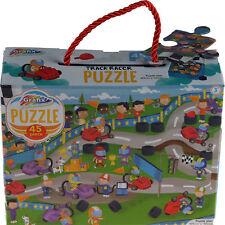 Grafix Boys 45 Piece Jigsaw Puzzles - Racing Car Track