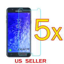5x Clear Screen Protector Guard Film For (T-Mobile) Samsung Galaxy J7 Star 2018