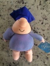 Ziggy Stuffed plush doll Toy with graduation cap without a date - 1988