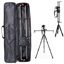 """60cm /24"""" Carbon Fiber Slider Dolly Track Video Stabilizer Rail For Camera DSLR"""