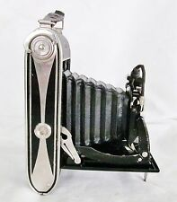 Art-Deco Skyscraper AGFA Billy-Record Folding Camera with Leather Case