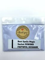 Powerful Hoodoo FAITHFUL HUSBAND Powder by Best Spells Magick Wicca Paganism
