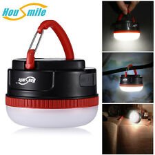 Portable Camping Lantern Rechargeable USB LED Hiking Night Light Lamp Flashlight