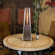 AZ Patio Heater Bronze Portable Glass Tube Tabletop Heater