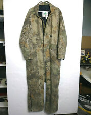 VINTAGE MEN'S LIBERTY RUGGED OUTDOOR GEAR CAMOUFLAGE HUNTING COVERALLS SZ XXL!