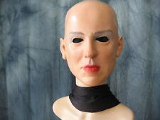 Latexmaske LADY - Real. weibliche Frau Latex Maske Gummi Gesicht Sharon Trans