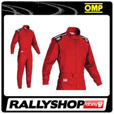 Combinaison OMP summer K Rouge Taille S 46-48 Kart Indoor Kart globale Léger