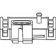 Sensore parti Tubo Pressione-Topran 206 952