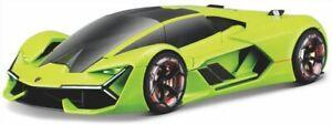 LAMBORGHINI TERZO MILLENNIO model car Lemon green 2019 1:24 BURAGO 21094G