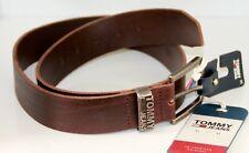TOMMY HILFIGER New Denton Belt 3.5 W90 Gürtel Accessoire Dark Tan Braun Neu