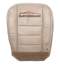 2007 - Ford F250 F350 Lariat - Driver Bottom Leather Seat Cover - TAN .