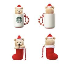 Starbucks KOREA 2018 Christmas Siren Bear Mug 355ml
