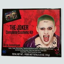 DC Comics Suicide Squad The Joker Complete Cosmetic Makeup Kit Cosplay NIB
