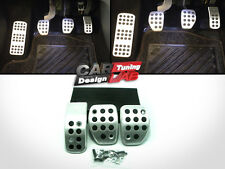 Peugeot 207 207cc MT Manual Sport Pedal Pads Covers Set
