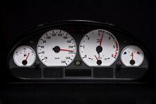 Tachoscheibe für BMW Tacho E46 Benzin oder Diesel M3 Weiss 3087 Tachoscheiben