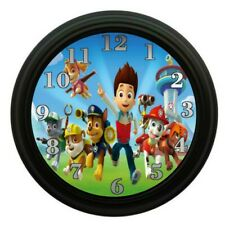 Paw Patrol Clock Kids Bedroom Decor Room Decor Playroom Clocks