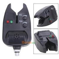 Electronic Carp Fishing Black Bite Alarm Sound Bell On Fishing Rod Adjustable