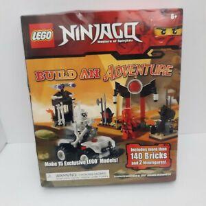 Lego NINJAGO Build An Adventure Brickmaster Builds15 Different models NEW SEALED