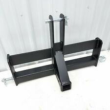 Category 1 3 Point Hitch 2 Receiver Hitch Drawbar Suitcase Weight Bracket