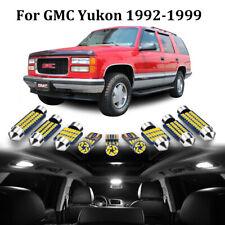 22pc White Interior Led Light Bulb Kit For 1992 1999 Gmc Yukon Tahoe Suburban
