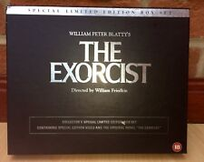 The Exorcist collector's special  limited edition box set VHS Video tape+Novel