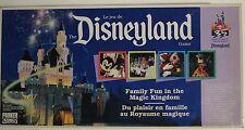 Disneyland Board Game 1990 Bilingual Complete