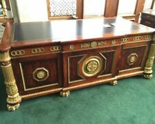 #7344 Large Executive Desk c 1950
