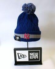 Bonnets bleues en acrylique New Era pour homme
