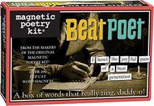 Magnetic Poetry Kit - Beat Poet