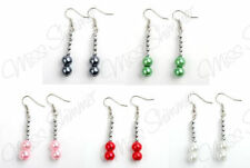 Alloy Pearl (Imitation) Silver Plated Costume Earrings