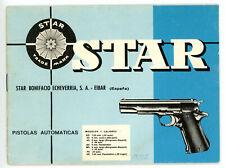 Bedienungsanleitung PISTOLE PISTOLA STAR Manual * COLT 1911 Clone * EN ESPANOL