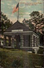 Andersonville GA Providence Springs Prison Park c1910 Postcard